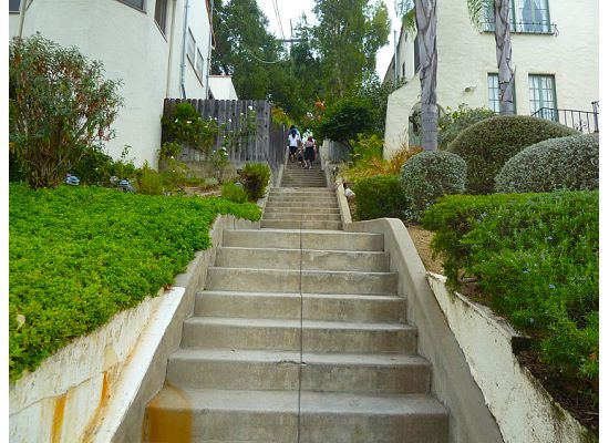 ... Pasadena La Loma Road, From The Book U201cSecret Stairs,u201d By Charles  Fleming.